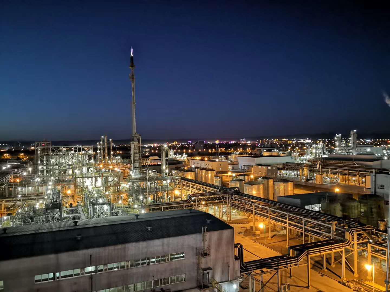 新疆美克化工BDO装置焦油综合利用项目有机废液焚烧炉系统